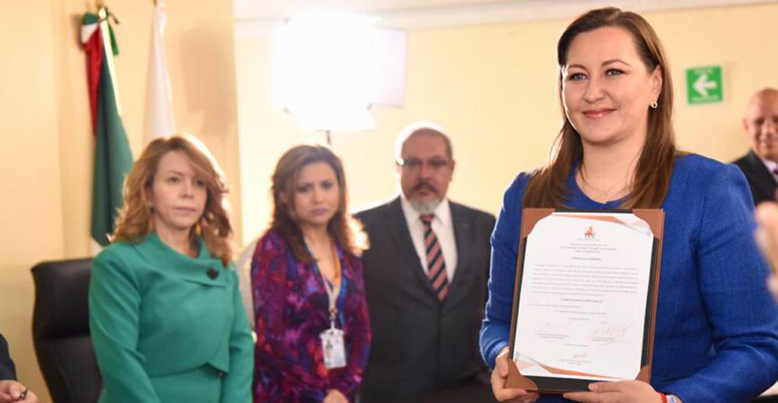 Congreso en Puebla aprueba reforma para 'blindar' a Martha Erika Alonso