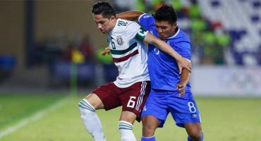 México casi fuera de los Centroamericanos tras perder con El Salvador