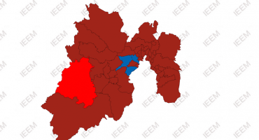 #Histórico: El PRI pierde municipios en Edo Mex; Morena se lleva la mayoría