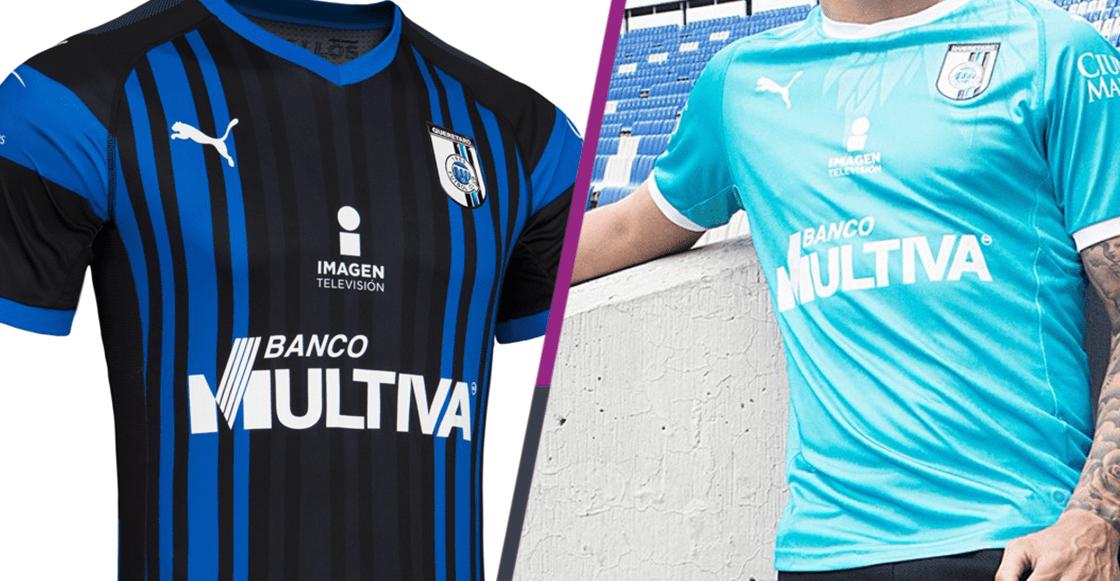 1f0e7ba346da2 Plumaje blindado! Así son los nuevos uniformes del Querétaro para el ...