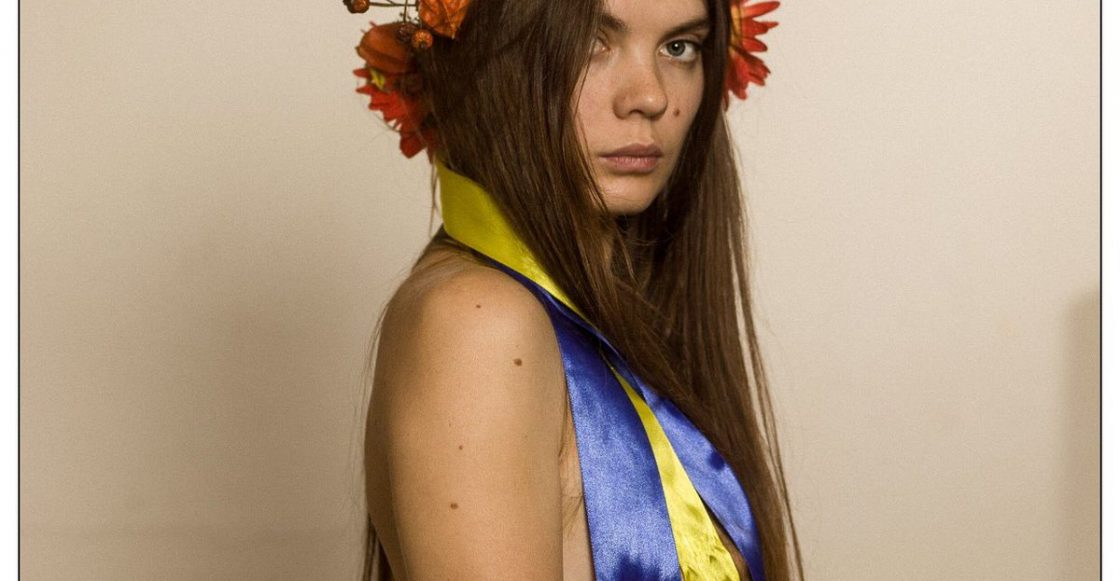 Oksana Shachko FEMEN