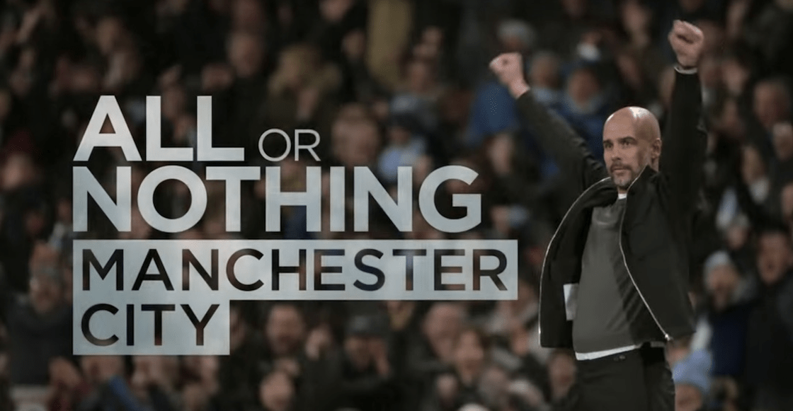 'All or nothing' el documental del Manchester City de Guardiola