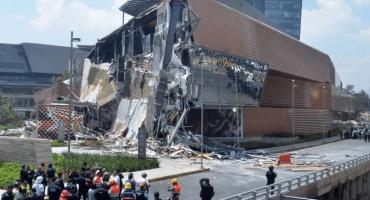 Colapso en Plaza Artz Pedregal apunta a un error humano: Amieva