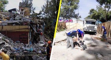 ¡Por fin! Ya inició la reconstrucción del Multifamiliar Tlalpan
