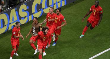 Bélgica le remontó a Japón