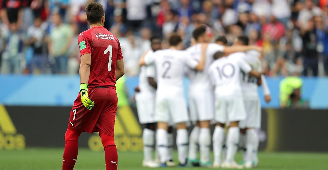Francia venció a Uruguay