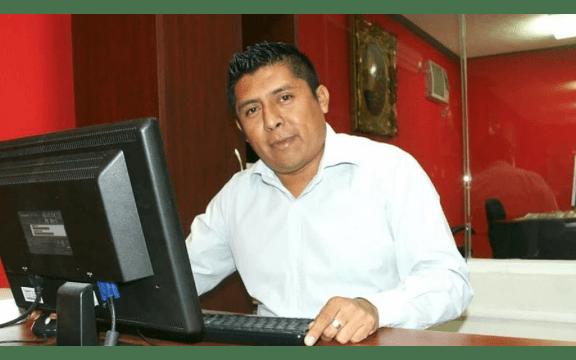Rubén Pat Cauich, periodista de Quintana Roo