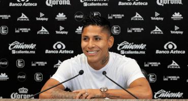 Ruidíaz se despidió de Monarcas; el club retirará el '9' durante un año