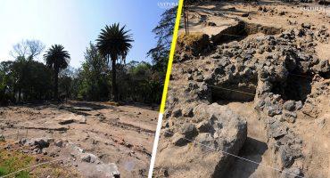 Un palacio prehispánico fue descubierto en Coyoacán por el INAH
