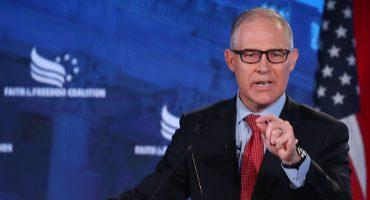 ¡Escándalaaa! Renuncia Scott Pruitt, secretario de Protección Ambiental de Estados Unidos