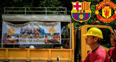 Manchester y Barcelona invitan a los 12 jugadores atrapados en Tailandia a sus instalaciones