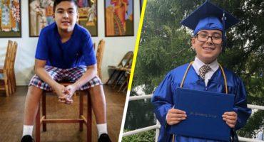 Este niño se graduó de la universidad... y sólo tiene 11 años