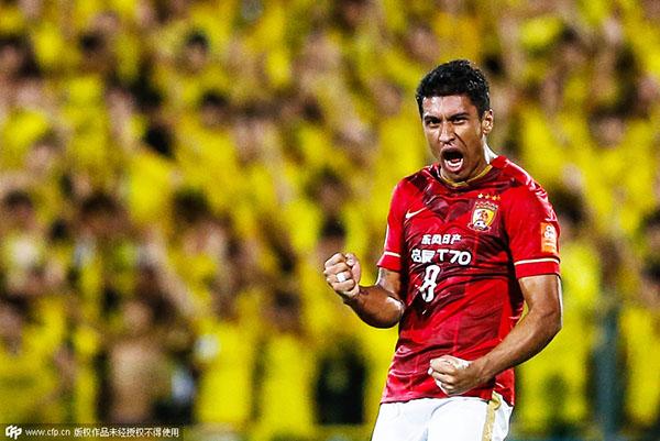Paulinho regresa al Guangzhou Evergrande