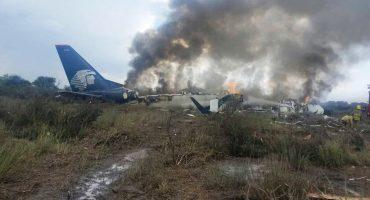 12 imágenes del accidente de avión de Aeroméxico en Durango
