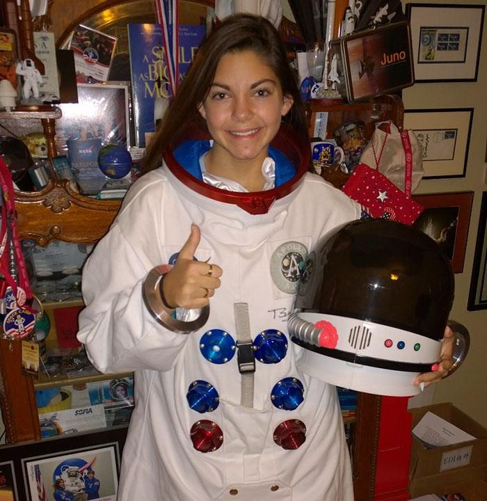 Alyssa Carson, de 17 años de edad, podría ser la primera persona en pisar Marte