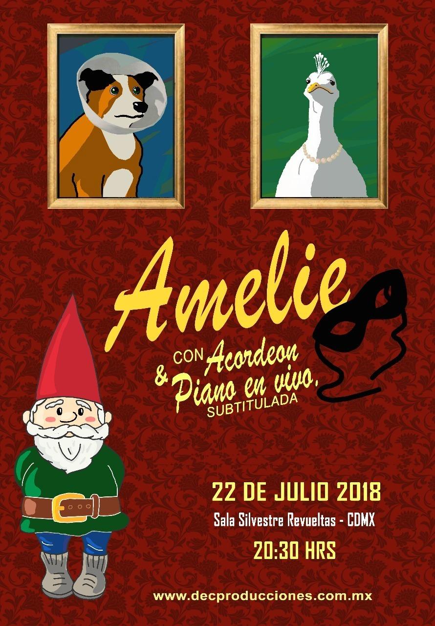 Amélie y acordeón