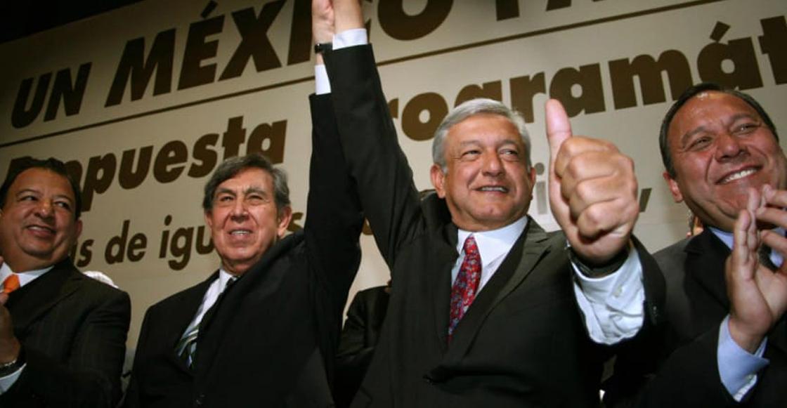 AMLO Y Cárdenas