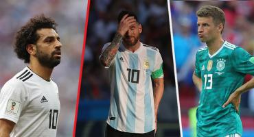 Hoy en las antipromesas del Mundial: Salah, Messi y Muller se quedaron cortos
