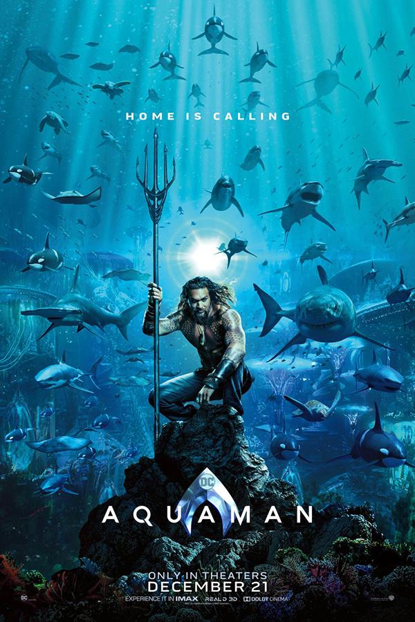Home is calling! Por acá te dejamos el primer tráiler de 'Aquaman' de DC