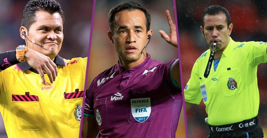 Estos son los árbitros que pitarán en la Jornada 1 de la Liga MX