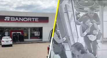 En el país de 'no pasa nada': Asaltan banco en Hermosillo y toman dos rehenes