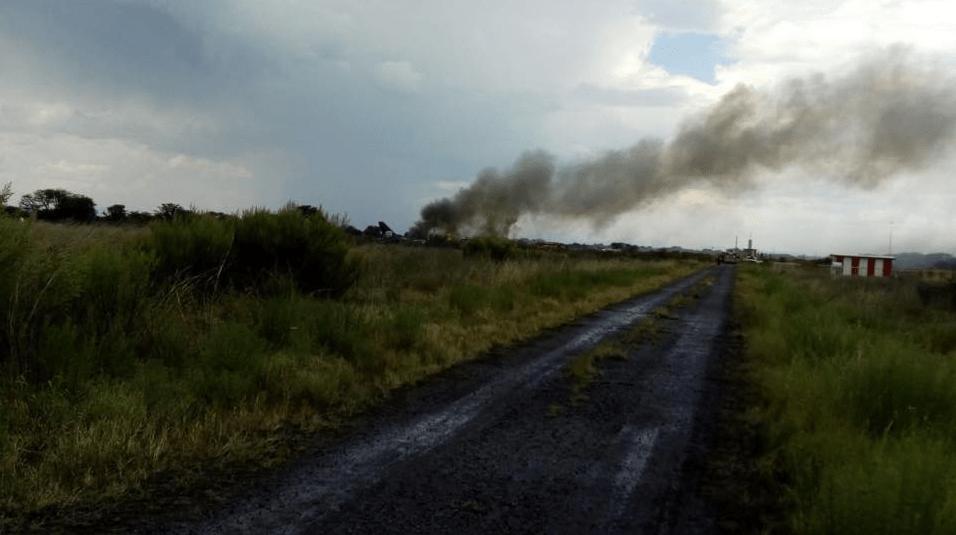 Aeroméxico accidente en Durango