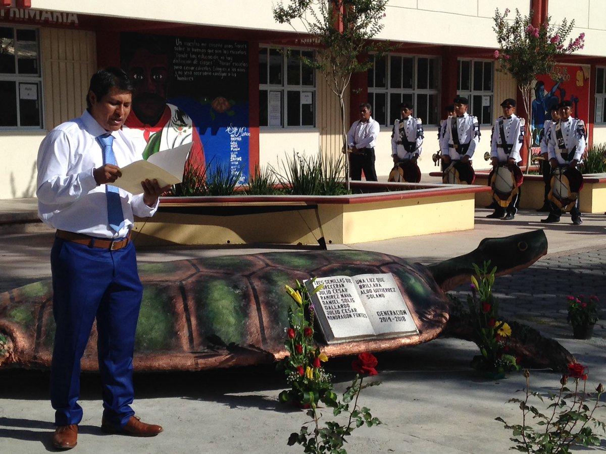Graduación generación 2014-2018 Escuela Isidro Burgos, Ayotzinapa