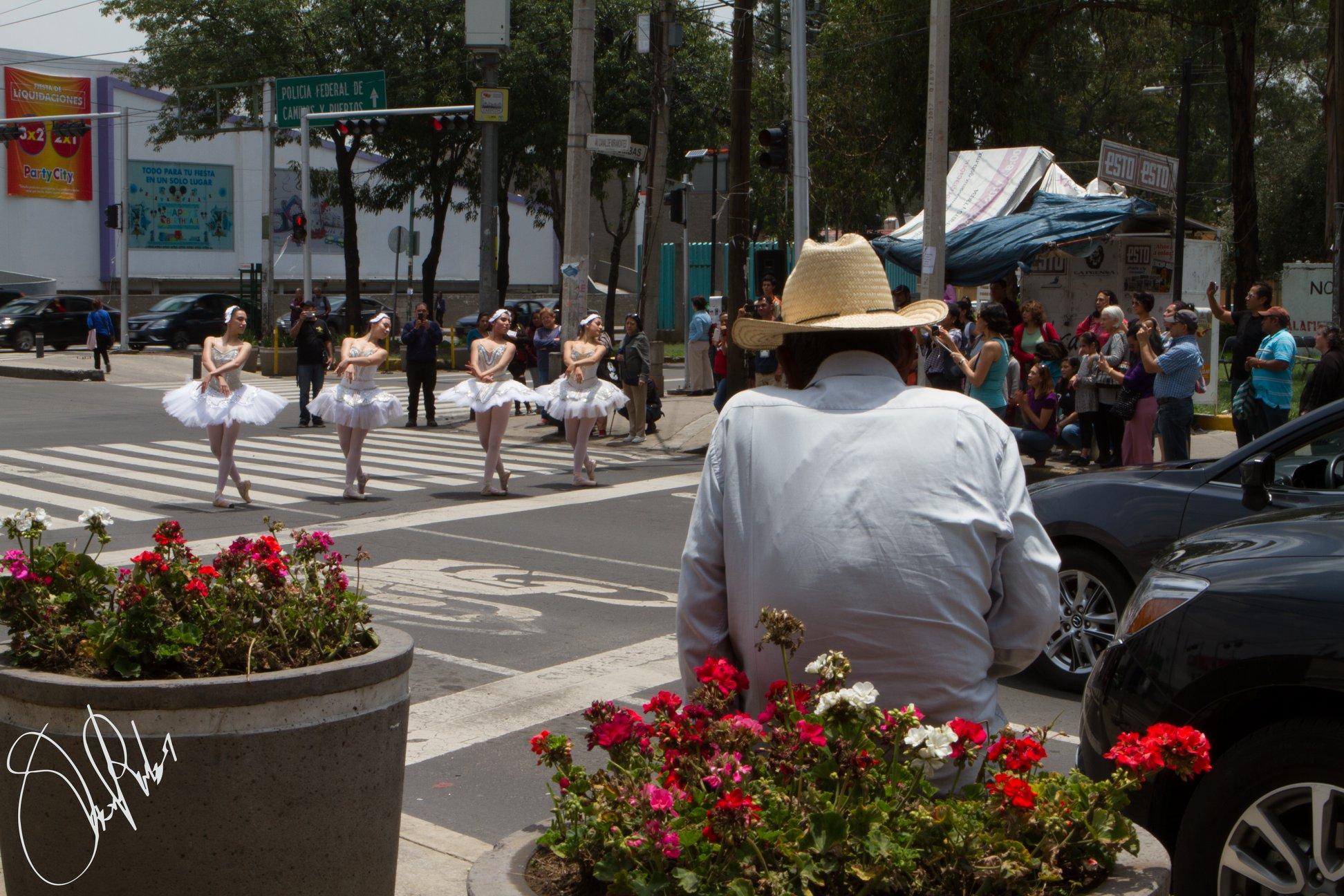 ballet calles cdmx