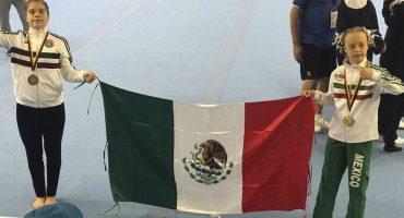 ¡Orgullo mexicano! Bárbara Wetzel se lleva el oro en el Campeonato Mundial de Gimnasia Síndrome de Down 2018