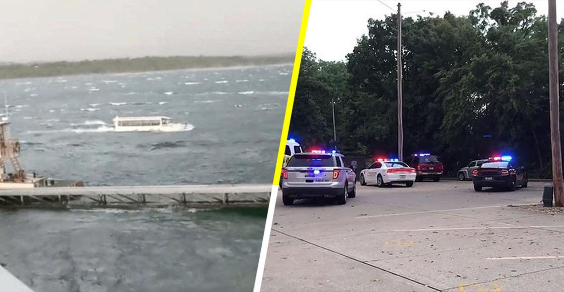 Tormenta atrapa barco turístico y mueren 13 personas; entre ellas niños