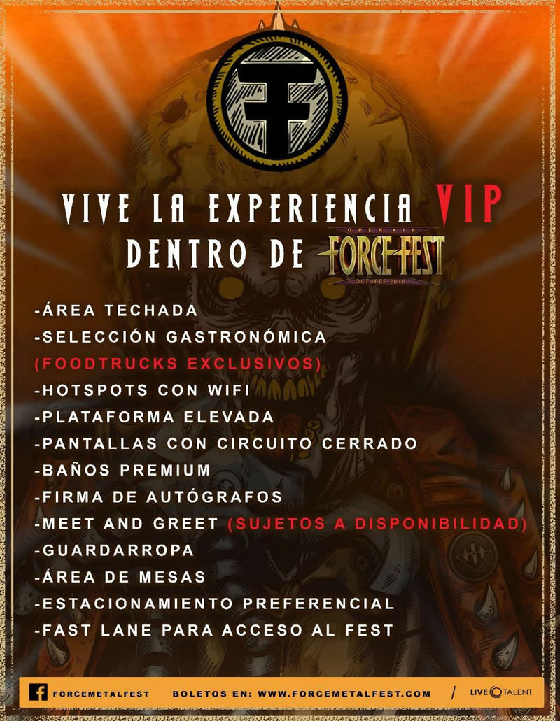 ¡System of a Down, Slayer, Alice In Chains y más en el Force Fest!