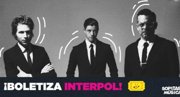 But here comes the tuit! ¡Ya llegó el tercer día de boletiza para Interpol!