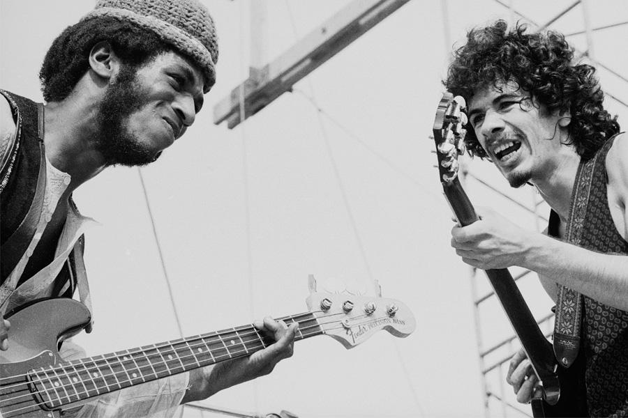 De como el Festival de Woodstock impulsó la carrera de Carlos Santana