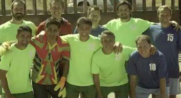 Campos, Bebeto, Aguinaga y Valdano, juntos en anuncio... del Gobierno Federal