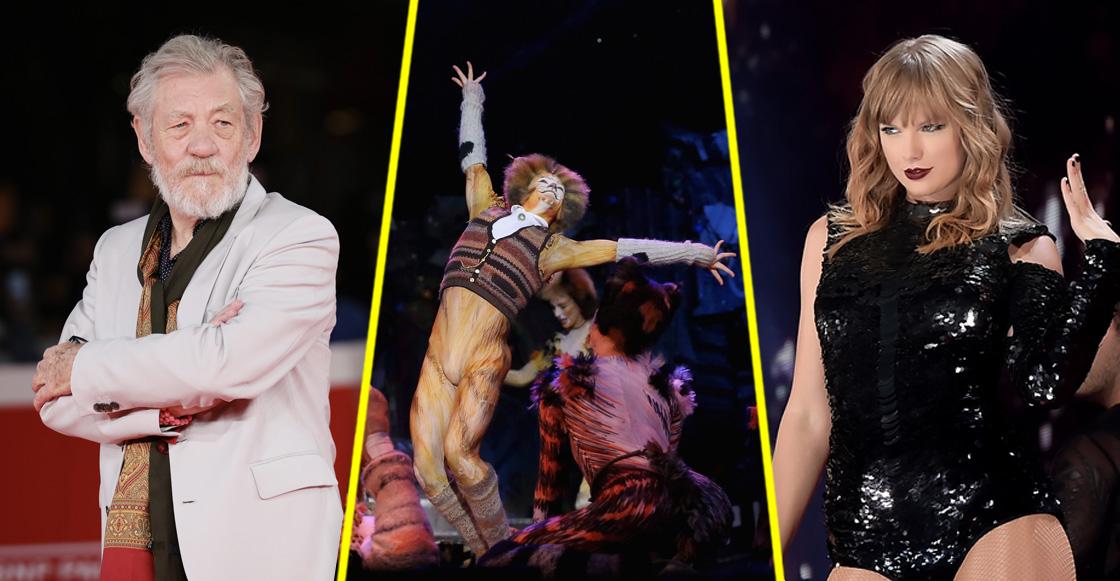 Taylor Swift y Sir Ian McKellen protagonizarán la nueva adaptación de 'Cats'