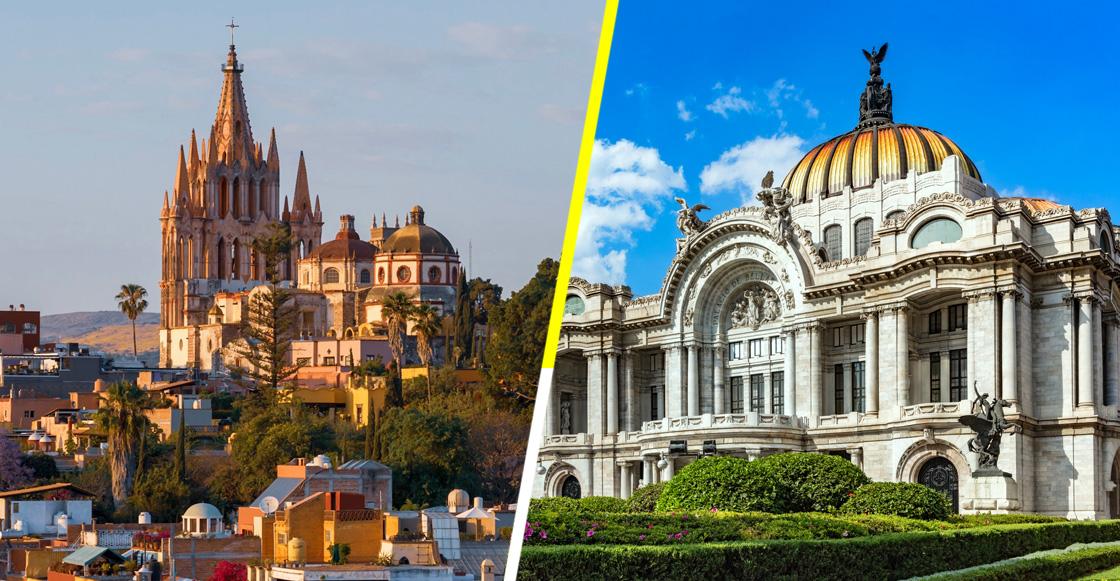 CDMX y San Miguel de Allende en el listado de mejores ciudades del mundo para visitar