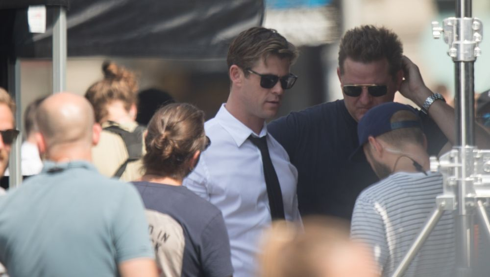 Así se verá Chris Hemsworth en el spin-off de 'Men in Black'