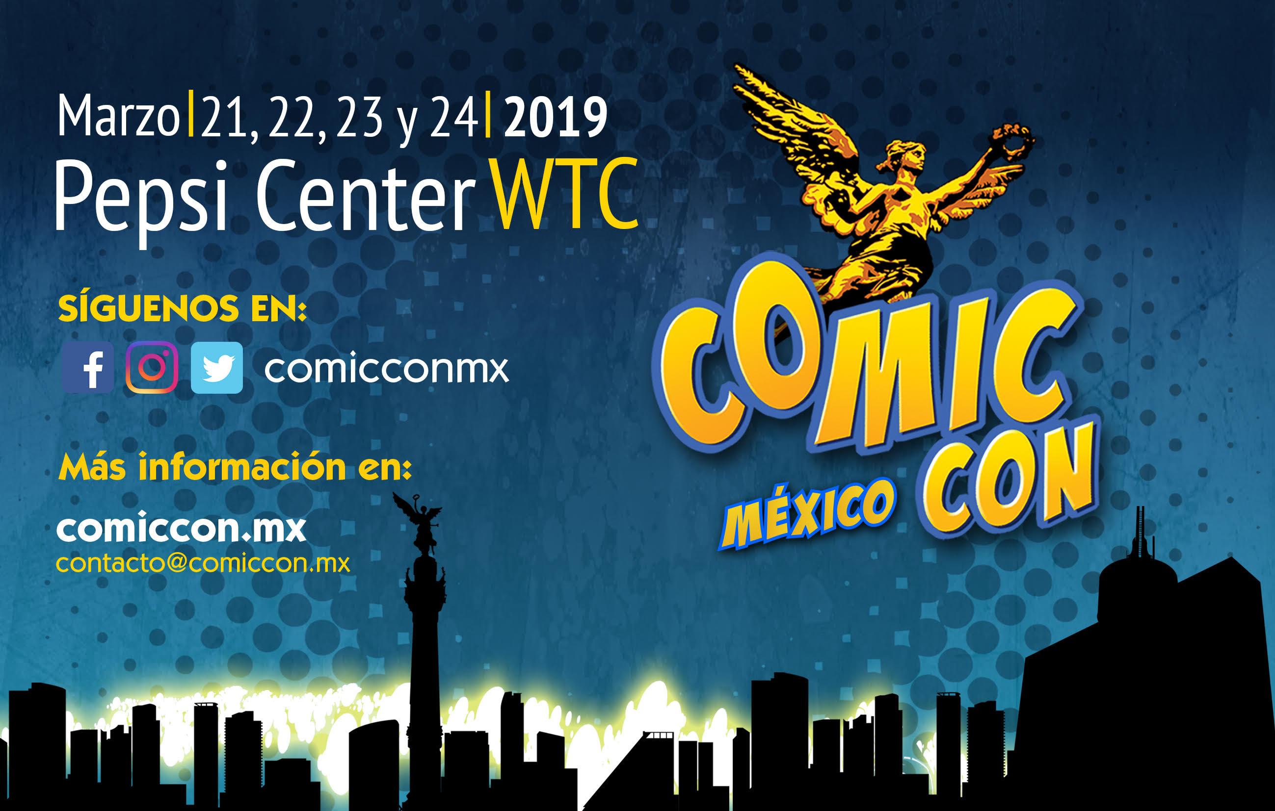 La Comic-Con llega a México