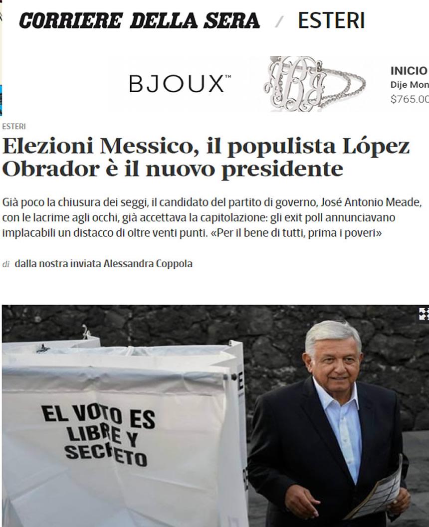 Qué dice la prensa internacional sobre el nuevo presidente de México?