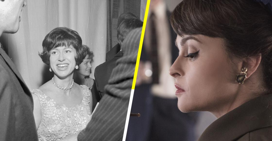 Sale el primer vistazo de Helena Bonham Carter como la princesa Margarita en 'The Crown'