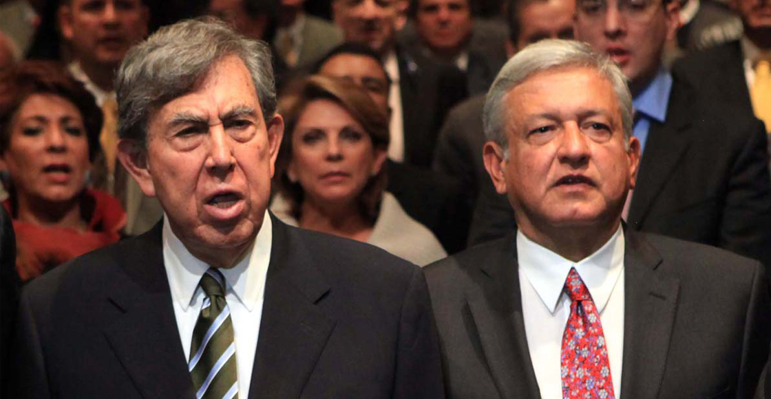 Cárdenas y AMLO