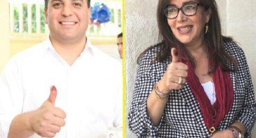 Dirigentes del PAN y Morena ya cantan victoria en elecciones estatales