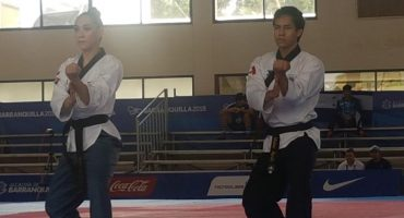 Barranquilla 2018: Daniela Rodríguez y Vaslav Ayala dan oro a México en Poomsae en Taekwondo