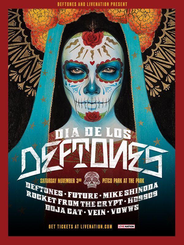 ¡Deftones anuncia su propio festival: Día de los Deftones!