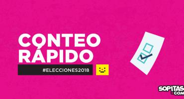 Elecciones 2018: Resultados oficiales del Conteo Rápido presidencial