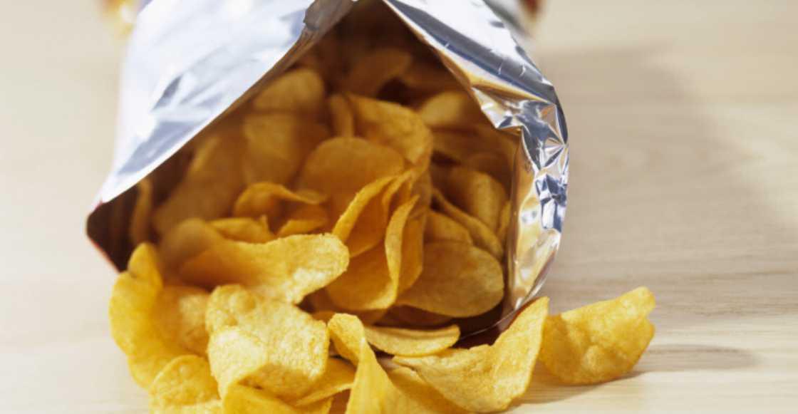 Este estudio nos dice la cantidad de aire que tienen algunas bolsas de papas