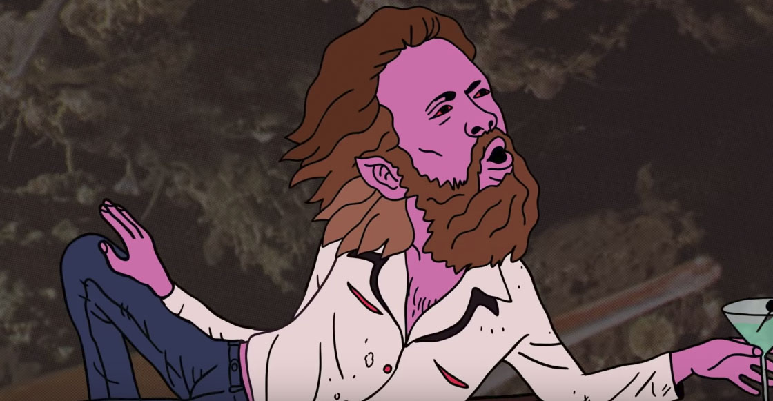 Ve el alucinante video animado de 'Date Night' de Father John Misty