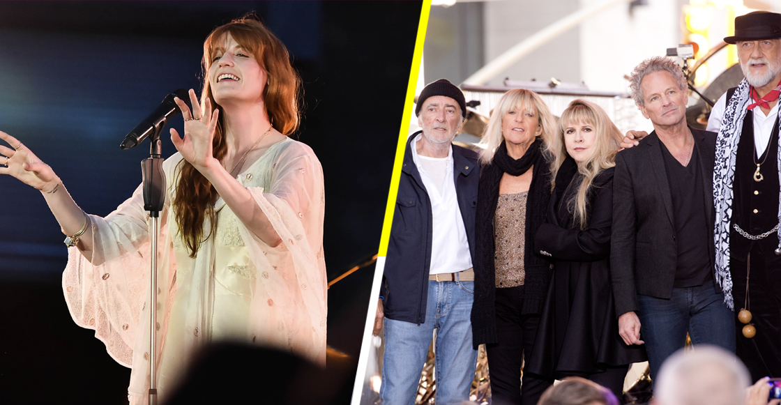 "Escucha el cover que Florence + The Machine le hizo a ""Silver Springs"" de Fleetwood Mac"