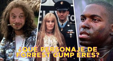Jenny, Bubba, teniente Dan: ¿Qué personaje de 'Forrest Gump' eres?
