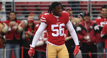 La NFL suspende dos fechas a Reuben Foster de los 49ers de San Francisco